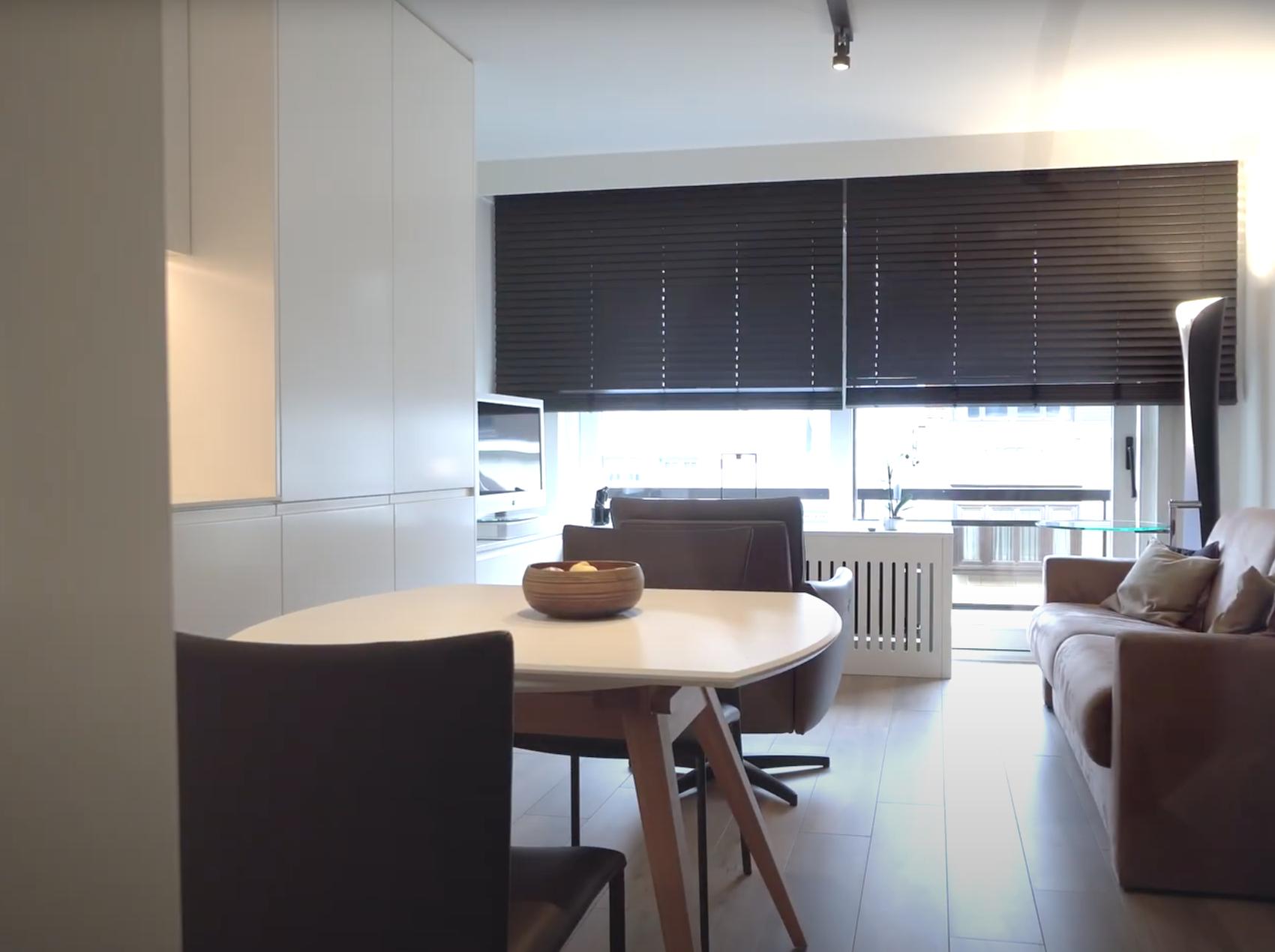 Compact appartement Nieuwpoort - Vandermeeren Interieurs