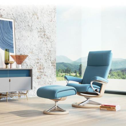 De voetenbank gratis bij aankoop van een zetel Stressless - Vandermeeren Interieurs